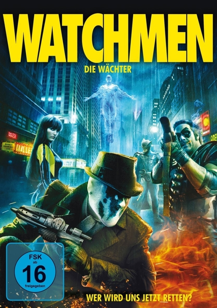 """Tagestipp Sonntag: """"Watchmen"""" um 22:30 Uhr auf Pro 7"""