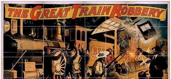 Platz 9: Der große Eisenbahnraub