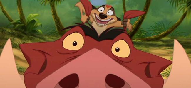 Timon Und Pumbaa König Der Löwen