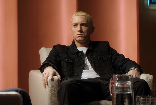 "Eminem in ""The Interview"""