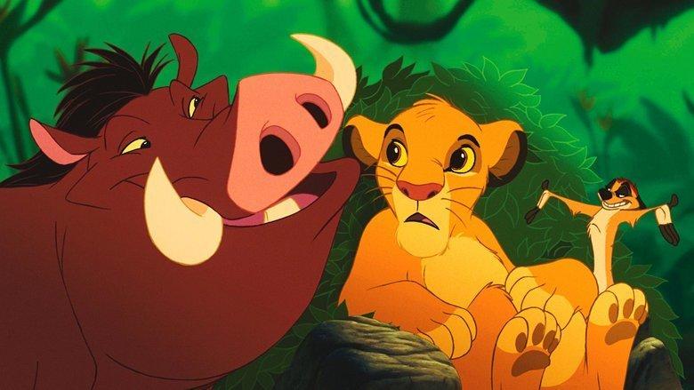 Platz 1: Timon & Pumba — Der König der Löwen