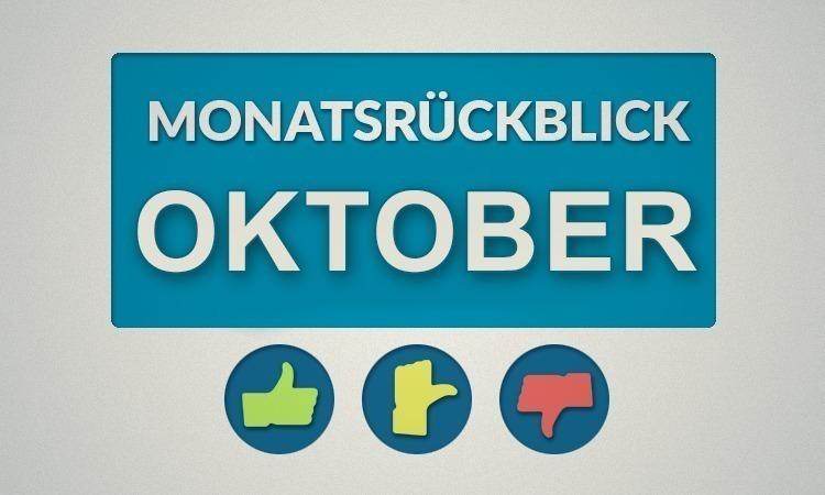 Moviebreaks Monatsrückblick: Oktober