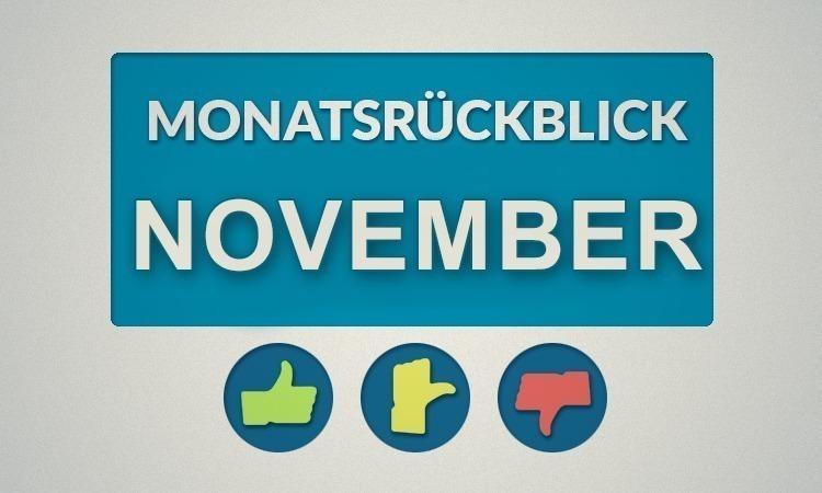 Moviebreaks Monatsrückblick: November