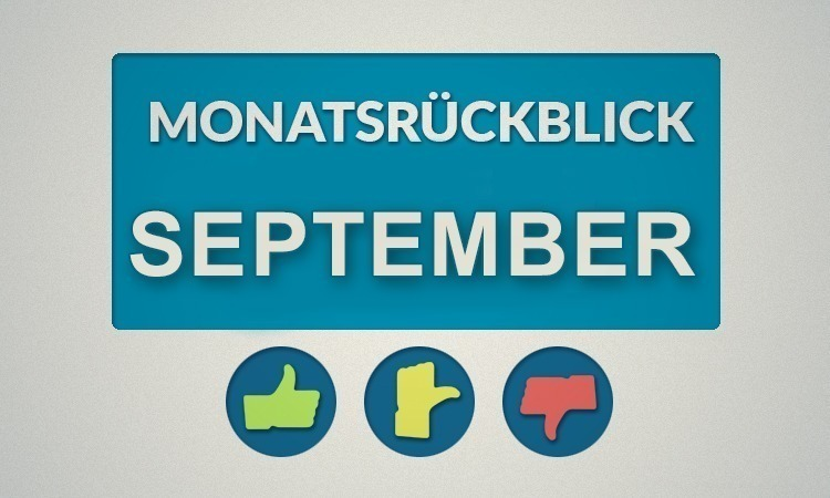 Moviebreaks Monatsrückblick: September