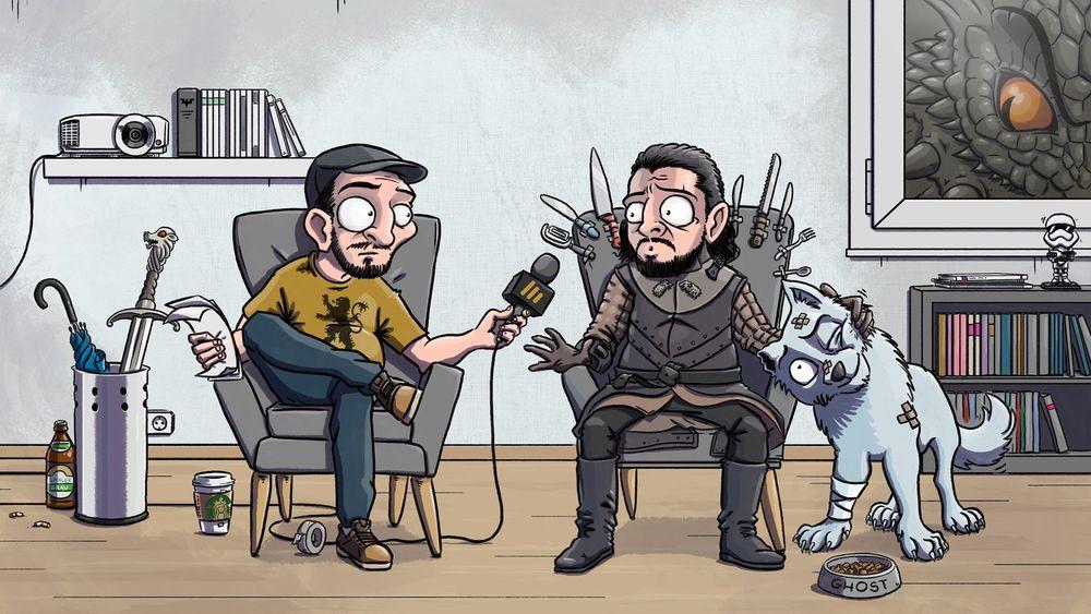 Angebinged Spezial: Interview mit Patrick Roche, der deutschen Stimme von Jon Snow | Moviebreak.de