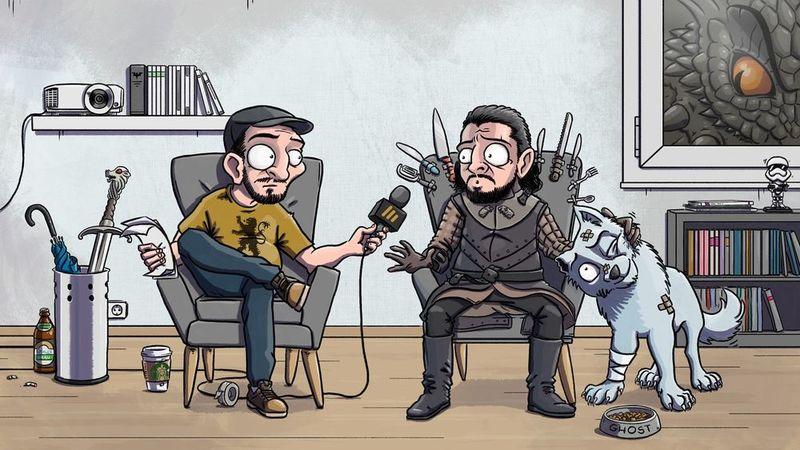 Abgebinged Spezial: Interview mit Patrick Roche, der deutschen Stimme von Jon Snow