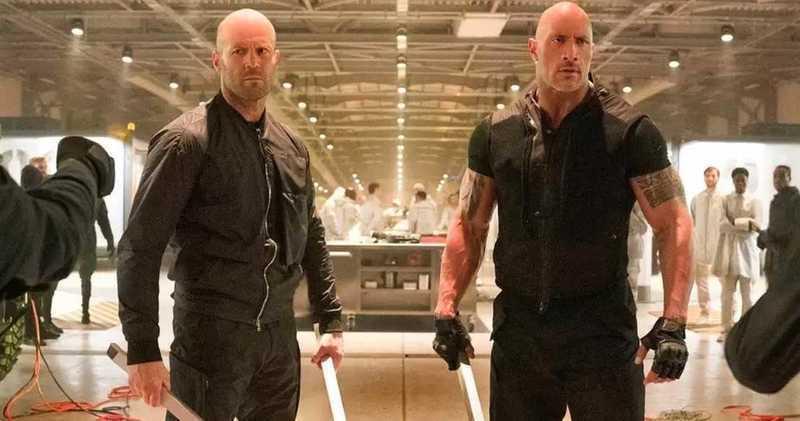 """Zwei Glatzen tanken Super: """"Fast & Furious: Hobbs & Shaw"""""""