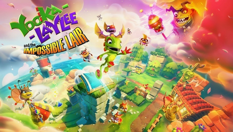 """Videospiel """"Yooka-Laylee and the Impossible Lair"""" im Test"""