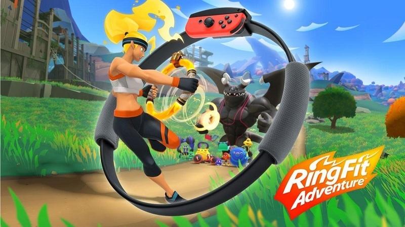 """Das Fitness-Videospiel """"Ring Fit Adventure"""" im Test"""