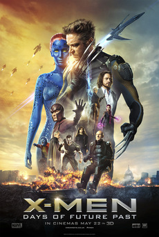 Big x men days of future past movie poster