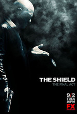 Small the shield poster