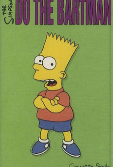 Big the simpsons   do the bartman   cassette single 305465