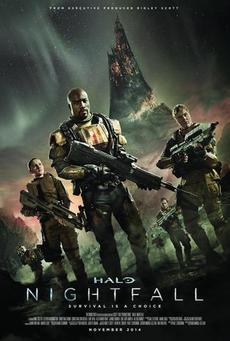 Big 771px halo nightfall poster