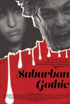 Big suburban gothic poster