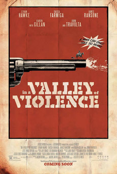 Big in a valley of violence poster