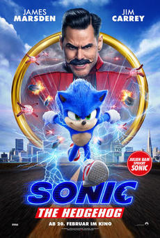 Big sonic the hedhehog