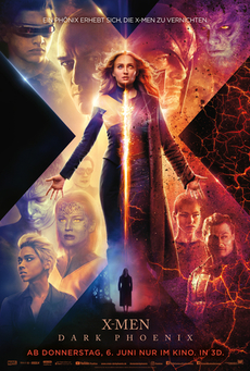 Big x men dark phoenix poster 2019