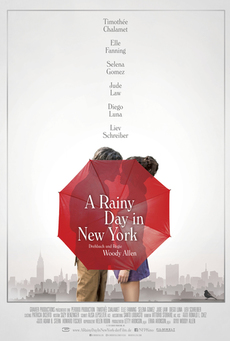 Big a rainy day in new york poster 2019