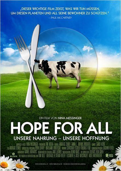 """Gewinnt Kinokarten zur Dokumentation """"Hope for All: Unsere Nahrung - unsere Hoffnung"""""""