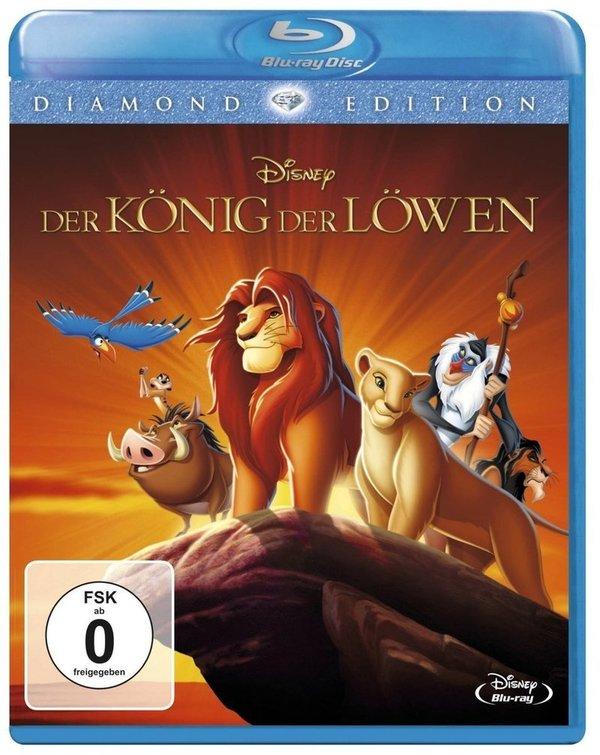 """Gewinnt eine BD zum Disney-Klassiker """"Der König der Löwen"""" - Diamond Edition"""