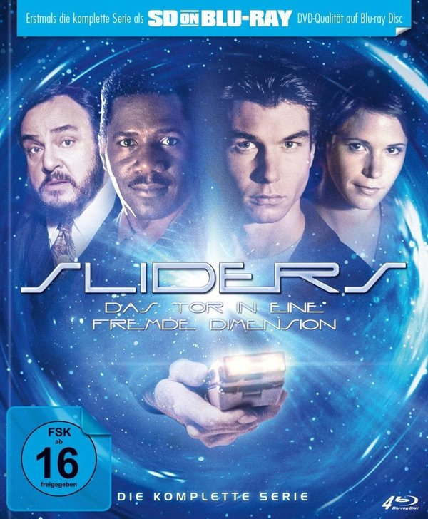 """Gewinnt eine SD on Blu-ray zur Kult-Serie """"Sliders - Das Tor in eine fremde Dimension"""" - Die komplette Serie"""