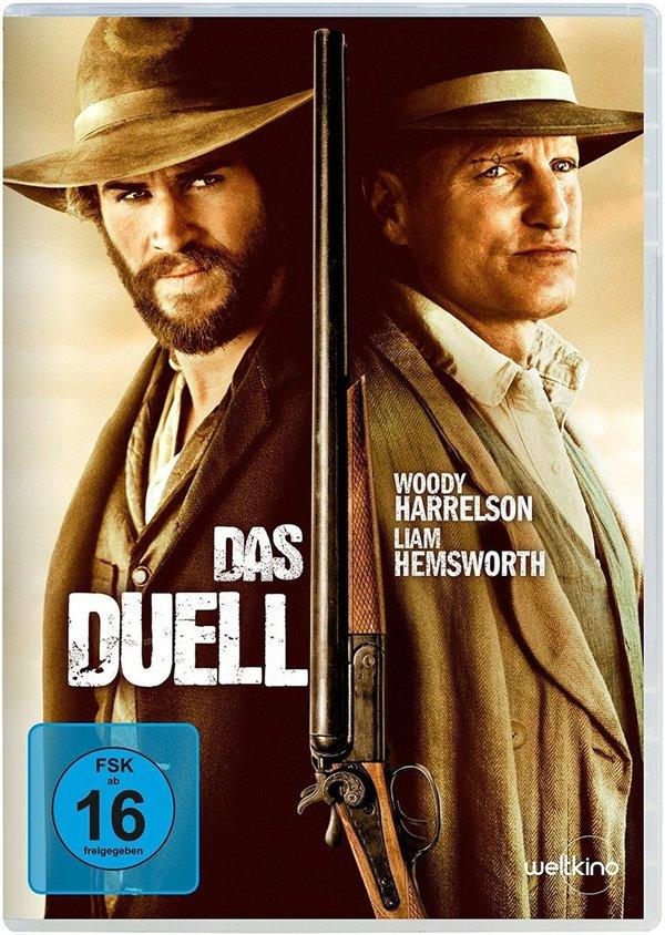 """Gewinnt """"Das Duell"""" zwischen Woody Harrelson und Liam Hemsworth auf DVD oder BD"""