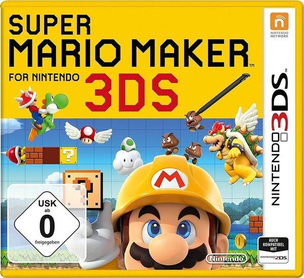 Gewinnt ein Fanpaket zur Videospielveröffentlichung von 'Super Mario Maker 3DS'