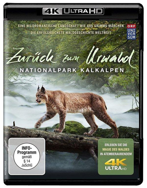 """Gewinnt eine 4K (UHD Ultra HD Blu-ray) zur Dokumentation """"Zurück zum Urwald - Der Nationalpark Kalkalpen"""""""