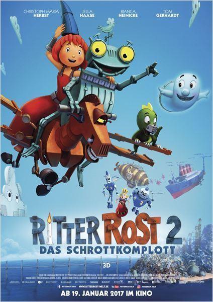 """Gewinnt zum Kinostart des Familien-Abenteuers """"Ritter Rost 2 - Das Schrottkomplott"""" ein tolles Fan-Paket"""