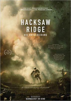 """Gewinnt zum Kinostart des Mel Gibson Helden-Epos """"Hacksaw Ridge - Die Entscheidung"""" ein Fan-Paket"""