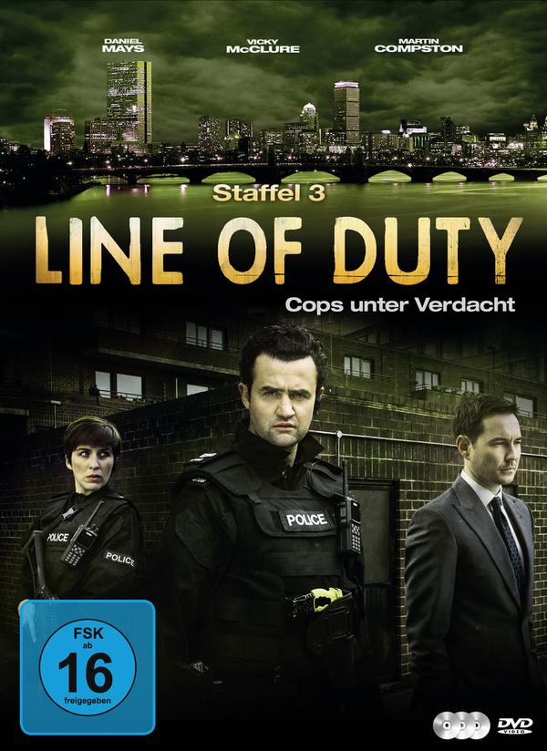 """Gewinnt eine DVD oder BD zur Crime-Serie """"Line of Duty - Cops unter Verdacht"""" - Season 3"""