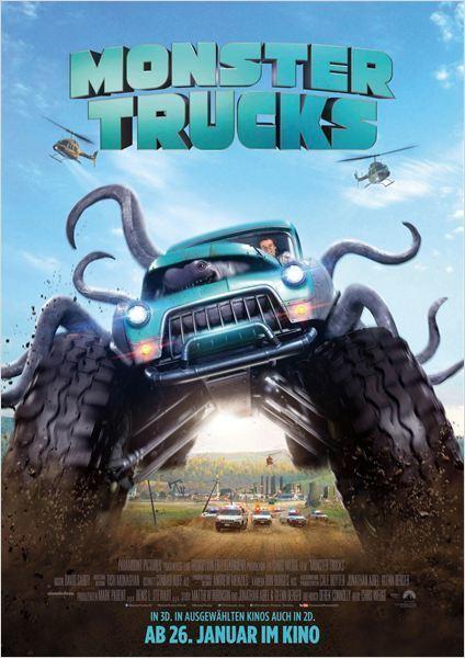 """Gewinnt zum Kinostart des Fantasy-Action-Abenteuers """"Monster Trucks"""" ein tolles Fan-Paket"""