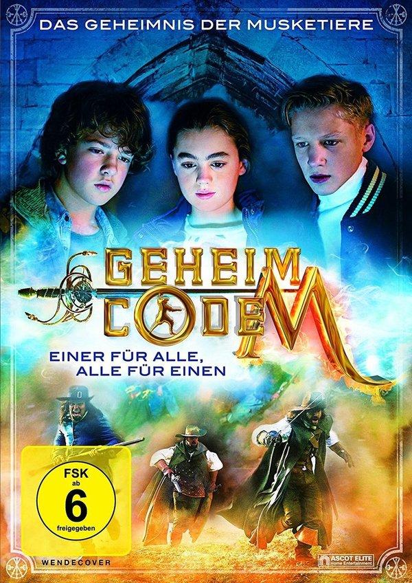 """Gewinnt den Abenteuerfilm für Jung und Alt, """"Geheimcode M - Das Schwert des Musketier"""", auf DVD"""