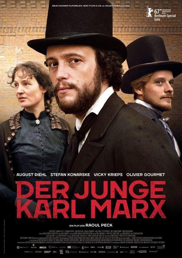 """Gewinnt zum Kinostart des historischen Dramas """"Der junge Karl Marx"""" ein Fan-Paket"""