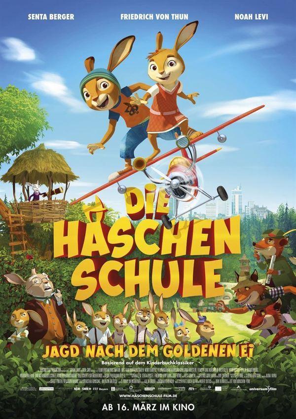"""Gewinnt zum Kinostart des deutschen Animationsabenteuers """"Die Häschenschule - Jagd nach dem goldenen Ei"""" ein Fan-Paket"""