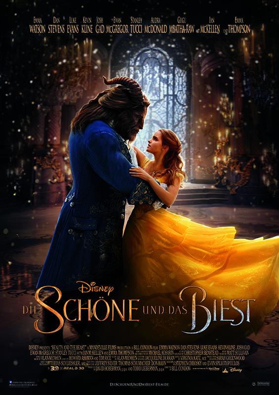 """Gewinnt zum Kinostart der Disney-Märchenverfilmung """"Die Schöne und das Biest"""" ein Fan-Paket"""