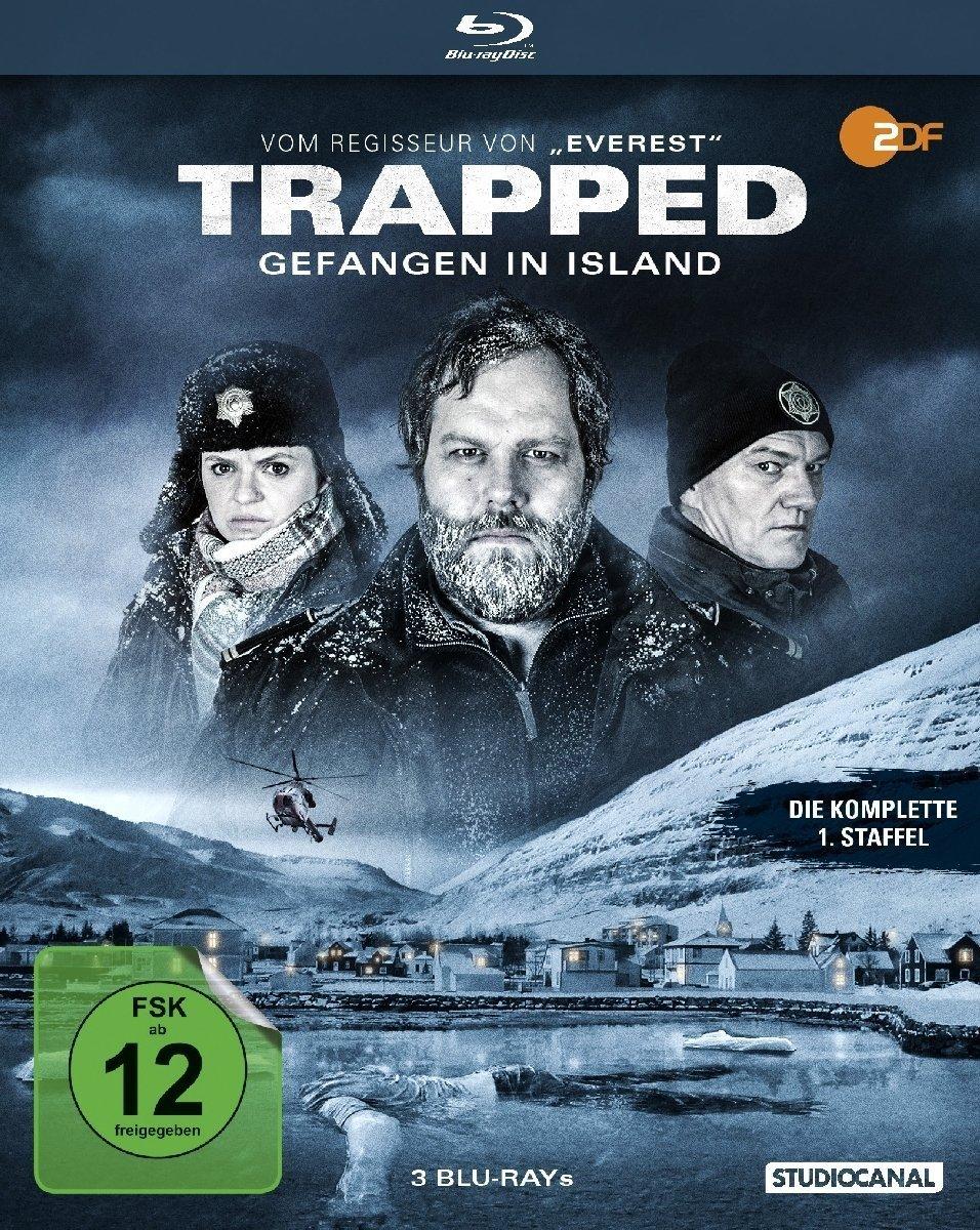 """Gewinnt zum Heimkinostart der spannenden Krimie-Serie """"Trapped - Gefangen in Island"""" - Staffel 1 ein Fan-Paket"""