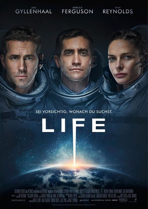 """Gewinnt zum Kinostart des Sci-Fi-Thrillers """"Life"""" ein tolles Fan-Paket"""