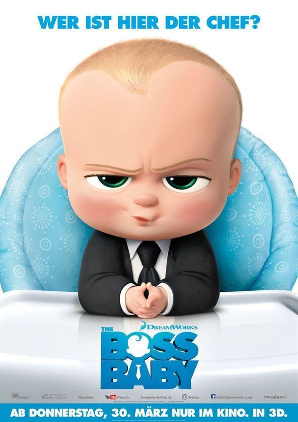 """Gewinnt zum Kinostart des Animationshighlights """"The Boss Baby"""" ein Fan-Paket"""