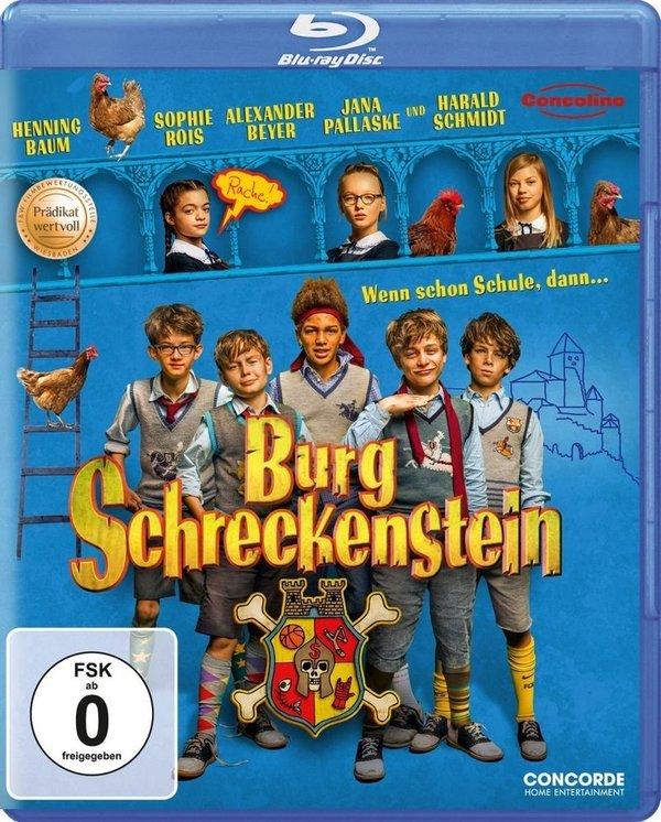 """Gewinnt eine BD zur Jugend-Abenteuerverfilmung """"Burg Schreckenstein"""""""