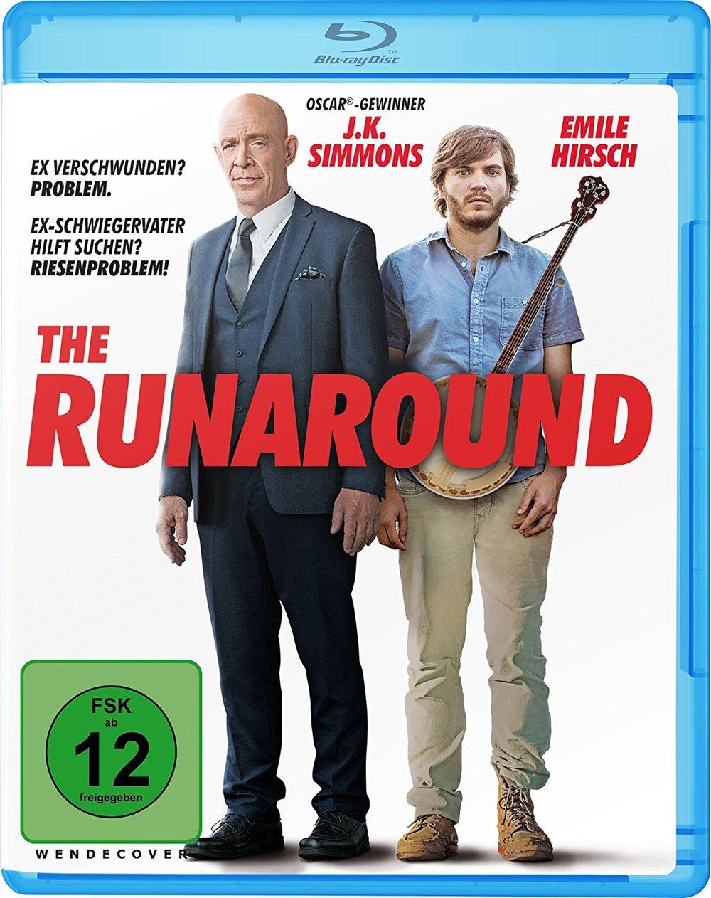 """Seid aufgeweckt und gewinnt """"The Runaround - Der Nachtschwärmer"""" mit J.K. Simmons auf BD"""
