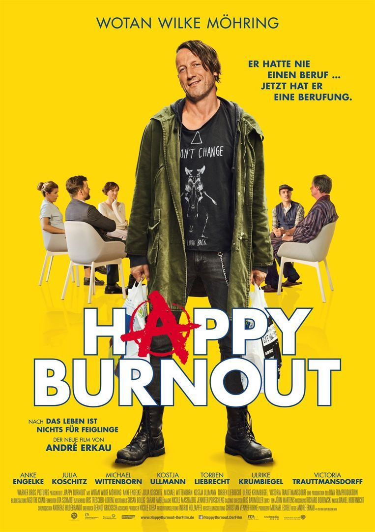 """Gewinnt zum Kinostart der Star-Komödie """"Happy Burnout"""" Kinokarten"""