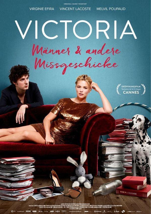 """Wir verlosen zum Kinostart von """"Victoria - Männer und andere Missgeschicke"""" 3 x 2 Freikarten"""
