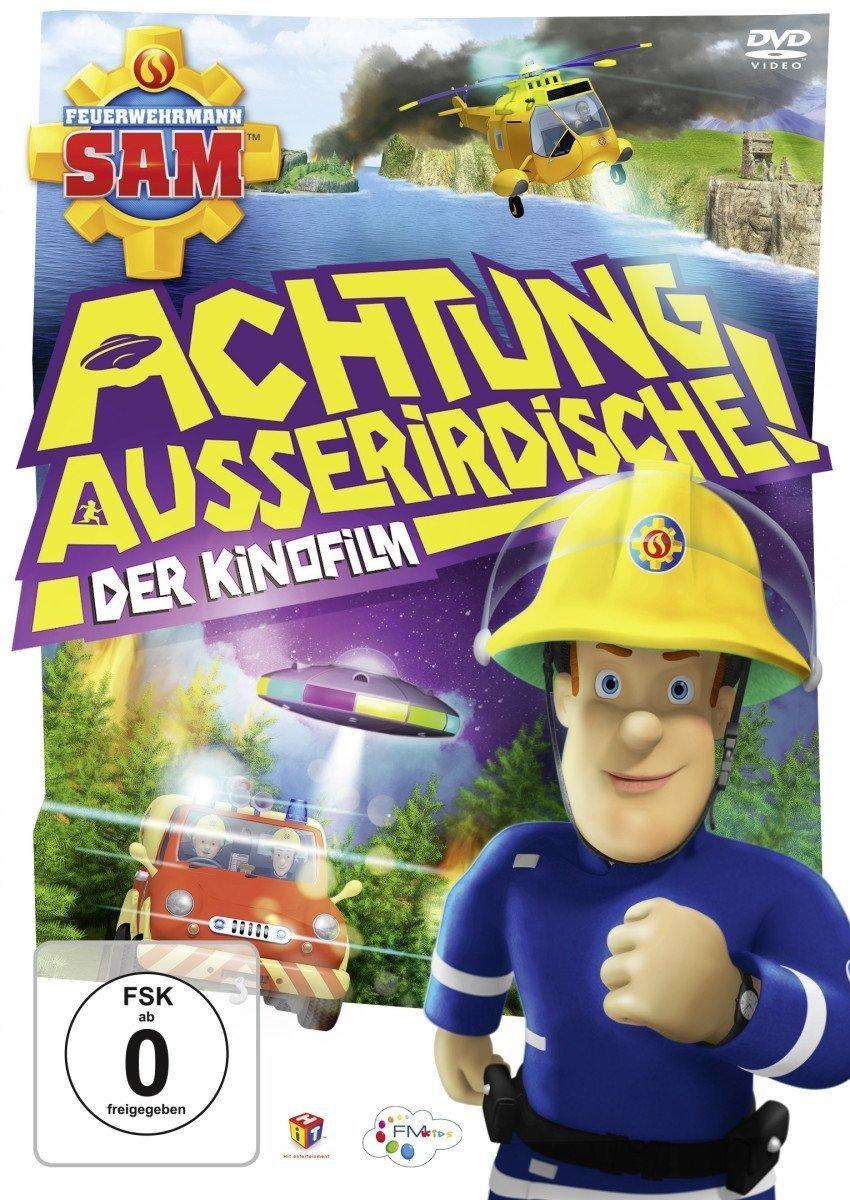 """Gewinnt eine DVD oder BD zum Kinder-Abenteuer-Highlight """"Feuerwehrmann Sam - Achtung Ausserirdische!"""""""
