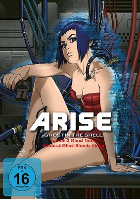 "Gewinnt eine DVD oder BD zum Anime-Highlight ""Ghost in the Shell – ARISE:border"" 3+4"