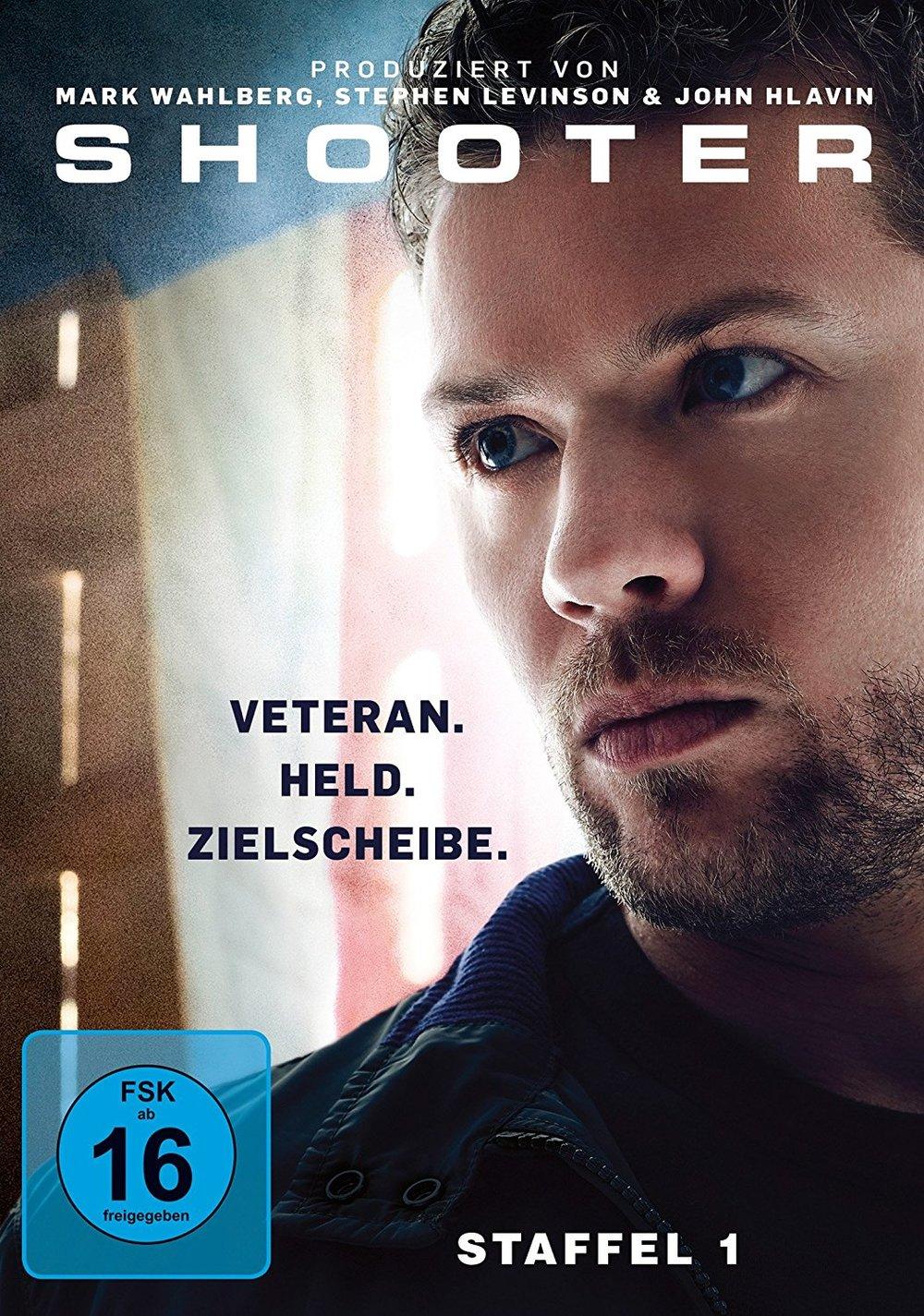 """Gewinnt eine DVD zur neuen Action-Serie """"Shooter"""" - Staffel 1"""