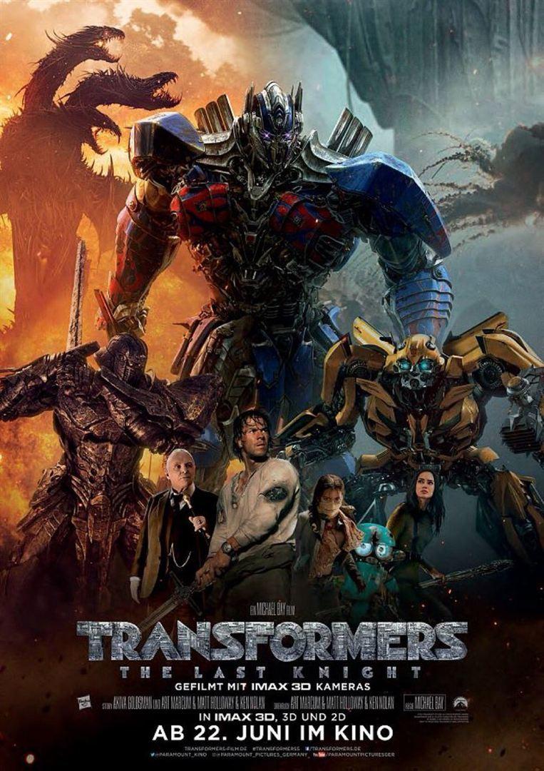 "Gewinnt zum Kinostart des Sci-Fi-Blockbusters ""Transformers Last Knight"" ein Fan-Paket"