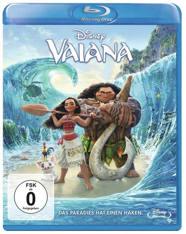 Gewinnt Vaiana auf Blu-Ray, Underworld Blood Wars auf Blu-Ray sowie The Great Wall auf DVD