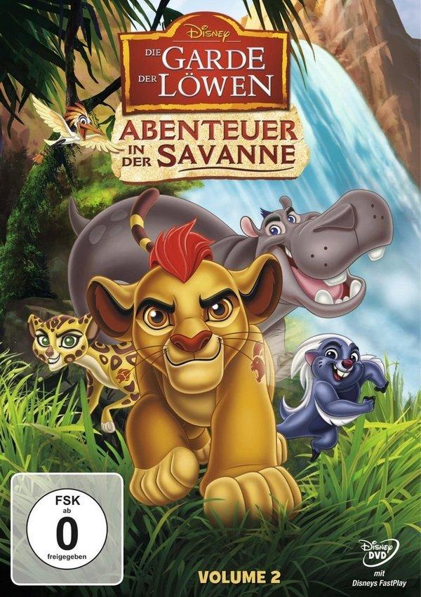 """Gewinnt eine DVD zur Disney-Serie """"Die Garde der Löwen - Abenteuer in der Savanne"""" (Volume 2)"""