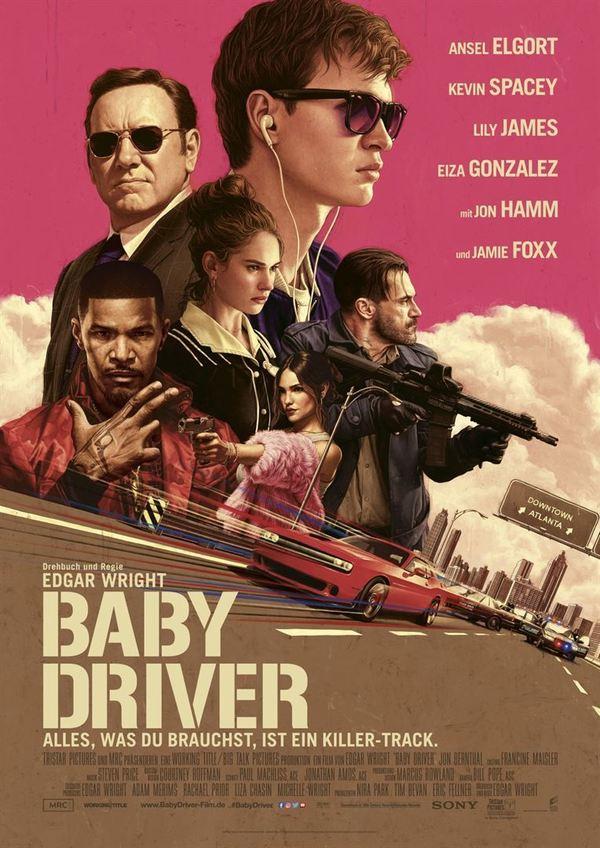 """Gewinnt zum Kinostart des Action-Krachers """"Baby Driver"""" ein Fan-Paket"""